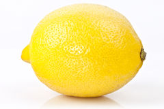 Lemon. A whole lemon at high resolution Royalty Free Stock Image