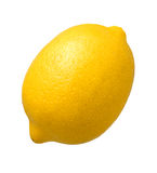 Lemon isolated Royalty Free Stock Photo