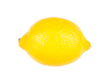 Lemon. Isolated on white background