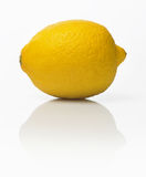 Lemon. Isolated on white background