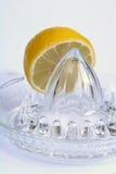 Lemon. Juicer stock images