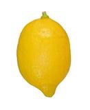 Lemon. Ripe lemon isolated on white royalty free stock photography
