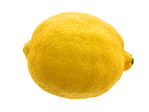 Lemon. On white. See my other images of s, fruts, food Stock Image