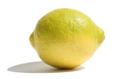 Lemon. The lemon on a white background Royalty Free Stock Photography