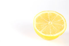 Lemon. On white background Stock Photography