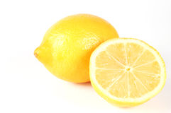 Lemon. On white background Stock Image