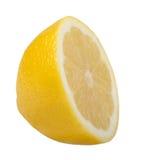 Lemon. Isolated on white background Stock Photos