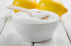 Lemon acid Royalty Free Stock Image
