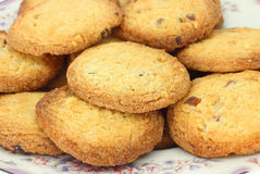 Lemon almond cookies Stock Images