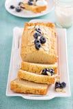 Lemon and almond pound cake Stock Photo