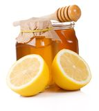 Lemon andd honey Stock Images