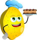 Lemon as confectioner Royalty Free Stock Photography