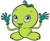 Lemon Baby. A fruit character Stock Image