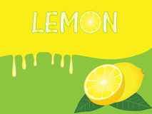 Lemon Background Royalty Free Stock Image