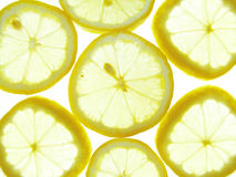 Lemon background Stock Photo