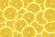 Lemon background. Overlapping lemon give a attractive background texture Royalty Free Stock Image