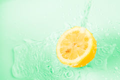 Lemon background Royalty Free Stock Image