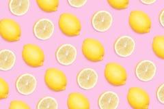 Lemon background stock illustration