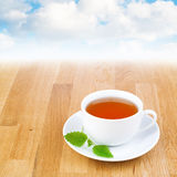 Lemon balm (melissa) tea. Stock Photography