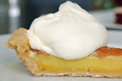Lemon Bar Pie Royalty Free Stock Images