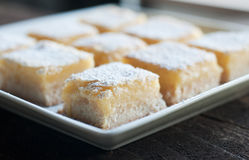 Lemon Bars Stock Image