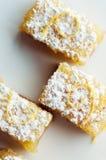 Lemon Bars stock images