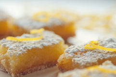 Lemon Bars royalty free stock image