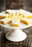 Lemon Bars Stock Photography