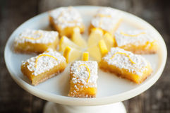 Lemon Bars Royalty Free Stock Images