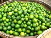 Lemon baskets Stock Images