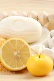 Lemon bath Royalty Free Stock Photos