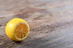Lemon, the best natural vitamin Royalty Free Stock Images