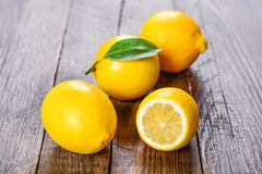 Lemon, the best natural vitamin Royalty Free Stock Photos