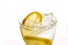 Lemon beverage and lemons Royalty Free Stock Photos