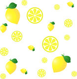 Lemon BG Royalty Free Stock Photos