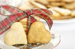 Lemon biscuits stock photo