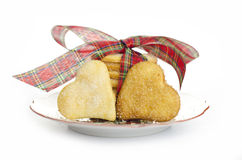 Lemon biscuits royalty free stock image