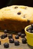 Lemon Blueberry Bread Royalty Free Stock Image
