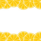 Lemon border Royalty Free Stock Images