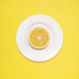 Lemon for breakfast. Royalty Free Stock Photos