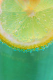 Lemon Bubbles Royalty Free Stock Images