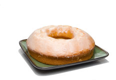 Lemon Bundt Cake Royalty Free Stock Photos