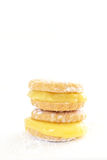 Lemon butter biscuits Royalty Free Stock Photos