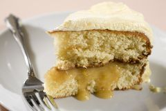Lemon Cake Royalty Free Stock Photography