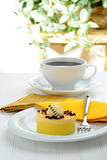Lemon Cake Stock Image