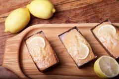 Lemon cake Stock Photos