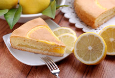 Lemon cake Royalty Free Stock Photo