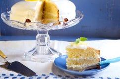 Lemon cake Stock Photography