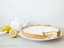 Lemon cake 2 Stock Photo