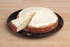 Lemon cake Royalty Free Stock Images